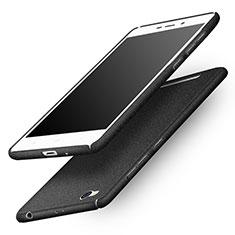 Handyhülle Hülle Kunststoff Schutzhülle Treibsand für Xiaomi Redmi 3 Schwarz