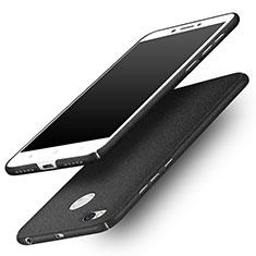 Handyhülle Hülle Kunststoff Schutzhülle Treibsand für Xiaomi Redmi 4X Schwarz