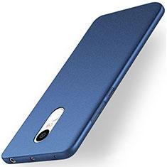 Handyhülle Hülle Kunststoff Schutzhülle Treibsand für Xiaomi Redmi Note 4X High Edition Blau