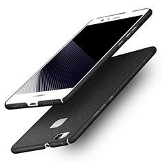 Handyhülle Hülle Kunststoff Schutzhülle Treibsand Q01 für Huawei G9 Lite Schwarz