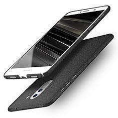 Handyhülle Hülle Kunststoff Schutzhülle Treibsand Q01 für Huawei Honor 6X Schwarz