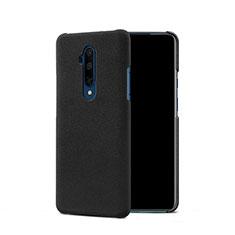 Handyhülle Hülle Kunststoff Schutzhülle Treibsand Q01 für OnePlus 7T Pro Schwarz