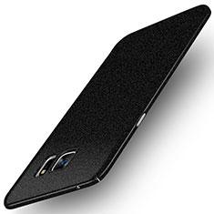 Handyhülle Hülle Kunststoff Schutzhülle Treibsand Q01 für Samsung Galaxy Note 5 N9200 N920 N920F Schwarz