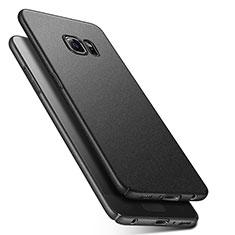 Handyhülle Hülle Kunststoff Schutzhülle Treibsand Q01 für Samsung Galaxy S6 SM-G920 Schwarz