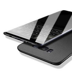 Handyhülle Hülle Kunststoff Schutzhülle Treibsand Q01 für Samsung Galaxy S8 Plus Schwarz