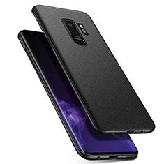 Handyhülle Hülle Kunststoff Schutzhülle Treibsand Q01 für Samsung Galaxy S9 Plus Schwarz