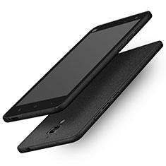 Handyhülle Hülle Kunststoff Schutzhülle Treibsand Q01 für Xiaomi Mi 4 LTE Schwarz