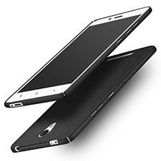 Handyhülle Hülle Kunststoff Schutzhülle Treibsand Q01 für Xiaomi Redmi Note 2 Schwarz