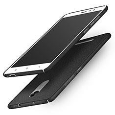 Handyhülle Hülle Kunststoff Schutzhülle Treibsand Q01 für Xiaomi Redmi Note 3 Pro Schwarz