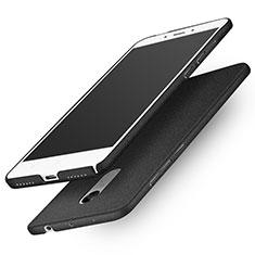 Handyhülle Hülle Kunststoff Schutzhülle Treibsand Q01 für Xiaomi Redmi Note 4X High Edition Schwarz