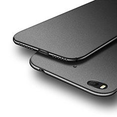 Handyhülle Hülle Kunststoff Schutzhülle Treibsand Q02 für Xiaomi Mi 5S 4G Schwarz