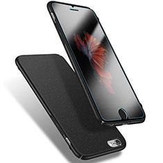 Handyhülle Hülle Kunststoff Schutzhülle Treibsand Q03 für Apple iPhone 6 Schwarz
