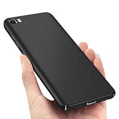 Handyhülle Hülle Kunststoff Schutzhülle Treibsand Q03 für Xiaomi Mi 5 Schwarz