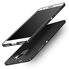 Handyhülle Hülle Kunststoff Schutzhülle Treibsand R01 für Huawei Honor 7 Dual SIM Schwarz
