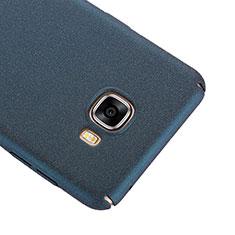 Handyhülle Hülle Kunststoff Schutzhülle Treibsand R01 für Samsung Galaxy C7 SM-C7000 Blau