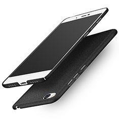 Handyhülle Hülle Kunststoff Schutzhülle Treibsand R01 für Xiaomi Mi 5S Schwarz