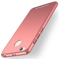 Handyhülle Hülle Kunststoff Tasche Matt für Xiaomi Redmi 3S Prime Rosegold