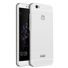 Handyhülle Hülle Luxus Aluminium Metall für Huawei Honor V8 Max Silber