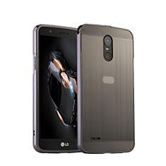 Handyhülle Hülle Luxus Aluminium Metall für LG Stylus 3 Silber