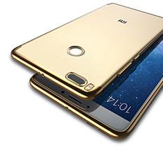 Handyhülle Hülle Luxus Aluminium Metall für Xiaomi Mi A1 Gold