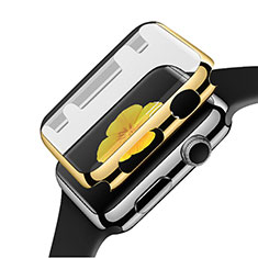 Handyhülle Hülle Luxus Aluminium Metall Rahmen C02 für Apple iWatch 3 42mm Gold