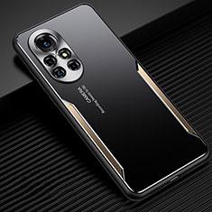 Handyhülle Hülle Luxus Aluminium Metall Tasche für Huawei Nova 8 Pro 5G Gold