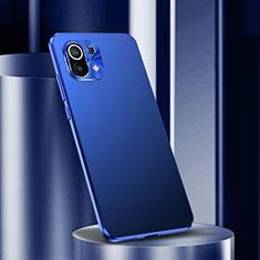 Handyhülle Hülle Luxus Aluminium Metall Tasche M01 für Xiaomi Mi 11 5G Blau