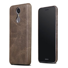 Handyhülle Hülle Luxus Leder Schutzhülle für Huawei Enjoy 6 Braun