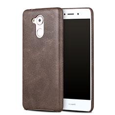 Handyhülle Hülle Luxus Leder Schutzhülle für Huawei Enjoy 6S Braun