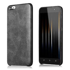 Handyhülle Hülle Luxus Leder Schutzhülle für Huawei Honor 4X Schwarz