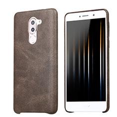 Handyhülle Hülle Luxus Leder Schutzhülle für Huawei Honor 6X Braun