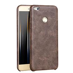 Handyhülle Hülle Luxus Leder Schutzhülle für Huawei Honor 8 Lite Braun