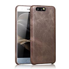 Handyhülle Hülle Luxus Leder Schutzhülle für Huawei Honor 9 Braun