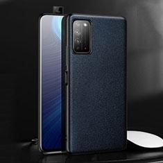Handyhülle Hülle Luxus Leder Schutzhülle für Huawei Honor X10 5G Blau