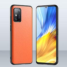Handyhülle Hülle Luxus Leder Schutzhülle für Huawei Honor X10 Max 5G Orange