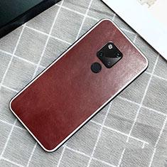 Handyhülle Hülle Luxus Leder Schutzhülle für Huawei Mate 20 Braun