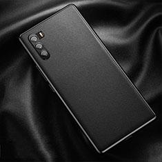 Handyhülle Hülle Luxus Leder Schutzhülle für Huawei Mate 40 Lite 5G Schwarz