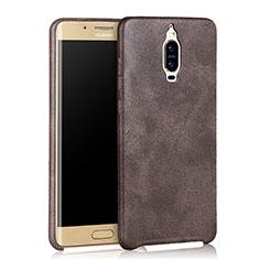 Handyhülle Hülle Luxus Leder Schutzhülle für Huawei Mate 9 Pro Braun