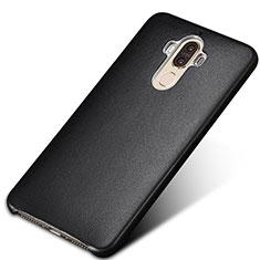 Handyhülle Hülle Luxus Leder Schutzhülle für Huawei Mate 9 Schwarz