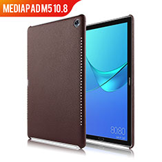 Handyhülle Hülle Luxus Leder Schutzhülle für Huawei MediaPad M5 10.8 Braun