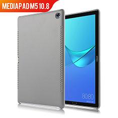 Handyhülle Hülle Luxus Leder Schutzhülle für Huawei MediaPad M5 10.8 Grau