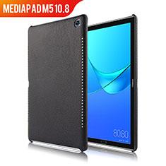 Handyhülle Hülle Luxus Leder Schutzhülle für Huawei MediaPad M5 10.8 Schwarz