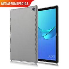 Handyhülle Hülle Luxus Leder Schutzhülle für Huawei MediaPad M5 Pro 10.8 Grau