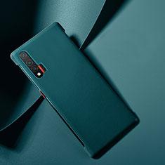Handyhülle Hülle Luxus Leder Schutzhülle für Huawei Nova 6 Blau