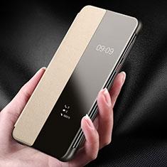 Handyhülle Hülle Luxus Leder Schutzhülle für Huawei P30 Gold