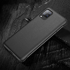 Handyhülle Hülle Luxus Leder Schutzhülle für Huawei P40 Lite Schwarz