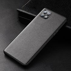 Handyhülle Hülle Luxus Leder Schutzhülle für Oppo Reno4 SE 5G Schwarz