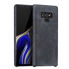 Handyhülle Hülle Luxus Leder Schutzhülle für Samsung Galaxy Note 9 Schwarz