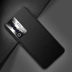 Handyhülle Hülle Luxus Leder Schutzhülle für Vivo X50 5G Schwarz