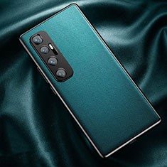 Handyhülle Hülle Luxus Leder Schutzhülle für Xiaomi Mi 10 Ultra Cyan